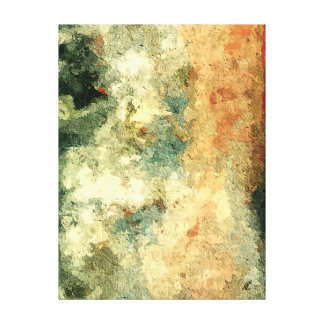 Pure abstract by rafi talby canvas print