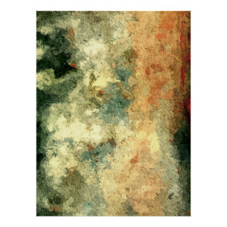 Pure abstract by rafi talby poster