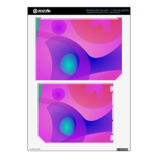 Pure Abstract Decals For Nintendo Wii