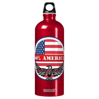 Pure American Aluminum Water Bottle