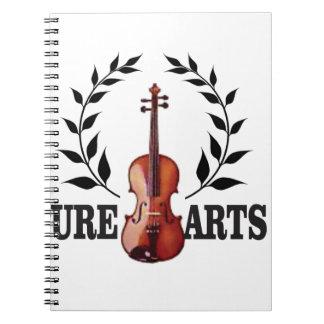 pure art fiddle notebook