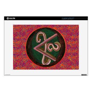 "Pure Artistic - REIKI Karuna Symbol 15"" Laptop Decal"