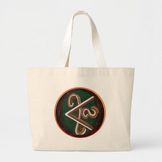 Pure Artistic - REIKI Karuna Symbol Canvas Bag