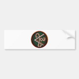 Pure Artistic - REIKI Karuna Symbol Bumper Sticker