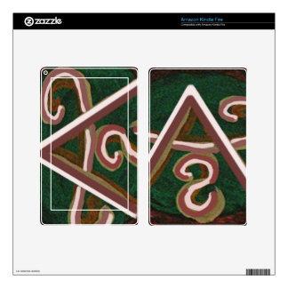 Pure Artistic - REIKI Karuna Symbol Decal For Kindle Fire