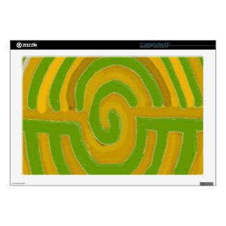 "Pure Artistic - REIKI Karuna Symbol Decals For 17"" Laptops"
