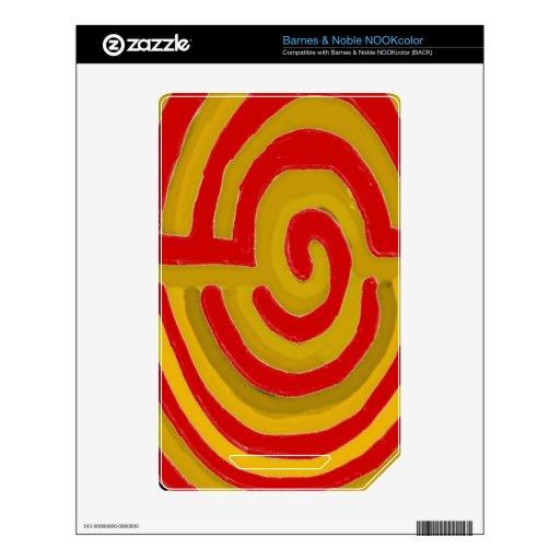 Pure Artistic - REIKI Karuna Symbol Decals For NOOK Color