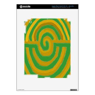 Pure Artistic - REIKI Karuna Symbol iPad 3 Skin