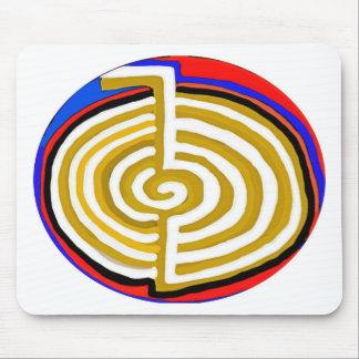 Pure Artistic - REIKI Karuna Symbol Mouse Pad