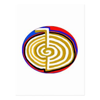 Pure Artistic - REIKI Karuna Symbol Post Cards