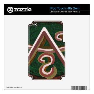 Pure Artistic - REIKI Karuna Symbol iPod Touch 4G Skins