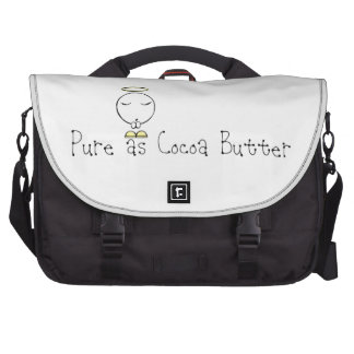 Pure as Cocoa Butter Laptop Computer Bag