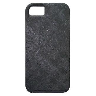 Pure Black Wet Diamond Pattern (pattern painting) iPhone SE/5/5s Case