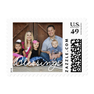Pure Blessings Holiday Postage