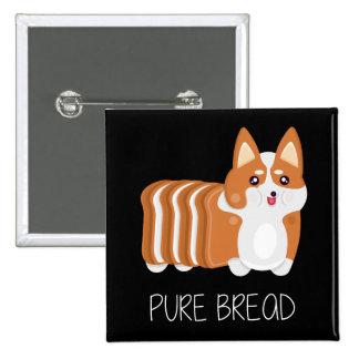 Pure Bread Corgi Button