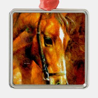 Pure Breed Metal Ornament