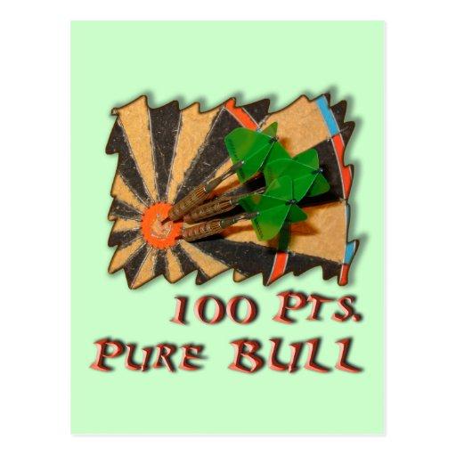 Pure Bull Postcard