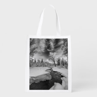 Pure Campbell Creek Grocery Bag