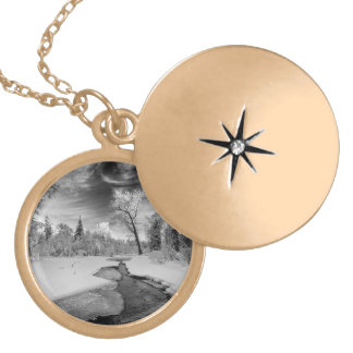 Pure Campbell Creek Locket Necklace