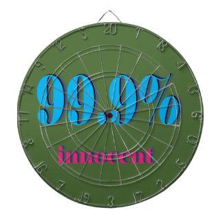 Pure Chaste 99.9 Percent Innocent Dart Board