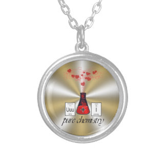 Pure Chemistry Round Pendant Necklace