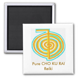 Pure CHO KU RAI - Reiki 2 Inch Square Magnet