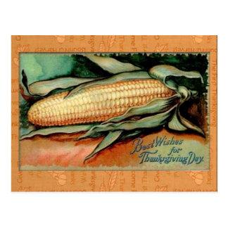 Pure Corn:  Vintage Thanksgiving Greeting Card