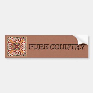 Pure Country Bumper Sticker