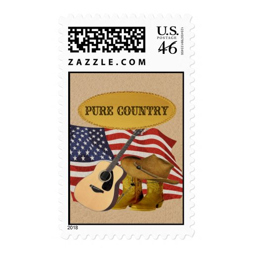 Pure Country Postage Stamps