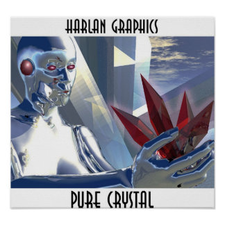 PURE CRYSTAL POSTER