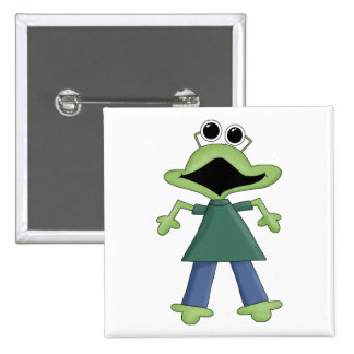 Puré del monstruo · Monstruo verde del Froggy Pins