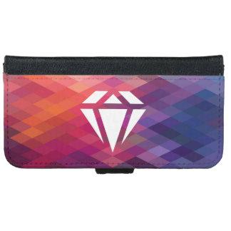 Pure Diamonds Graphic iPhone 6 Wallet Case