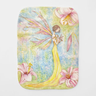 Pure Embrace - Mother & Baby Fairy Burp Cloth