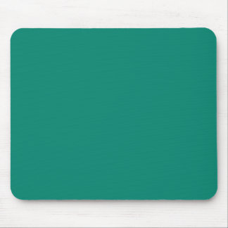 Pure Emerald Green Color Trend Blank Template Mouse Pad