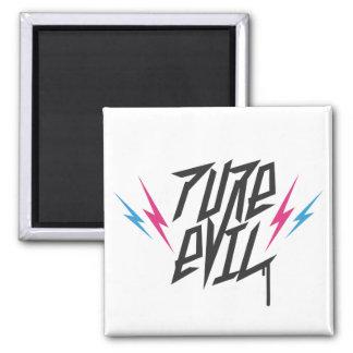 Pure Evil logo Refrigerator Magnets