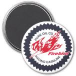 Pure Firebird Racing Gasoline vintage sign 3 Inch Round Magnet
