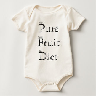 Pure Fruit Diet Baby Bodysuit