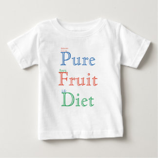 Pure Fruit Diet (colour) Baby T-Shirt