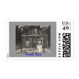 Pure Gas Station Stamps
