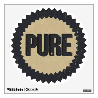 Pure Gasoline vintage sign reproduction Wall Stickers