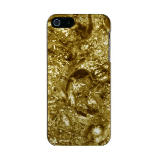 PURE GOLD Abstract Pattern + your text / photo Incipio Feather® Shine iPhone 5 Case