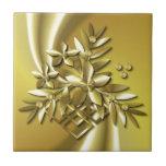 Pure Gold Ceramic Tile
