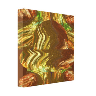 Pure Gold Creations - Fire Works n Flames Canvas Print