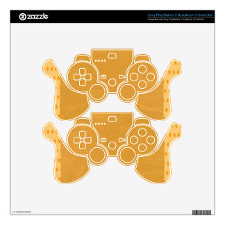 Pure Gold Energy - Buy for dime Text your name Skin For PS3 Controller