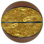 PURE GOLD FOIL Pattern   your text / photo Basketball