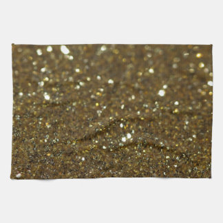 Pure Gold Glimmer Kitchen Towels