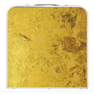 PURE GOLD LEAF Pattern + your text / photo Beer Pong Table