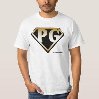 Pure Gold logo Tee Shirts