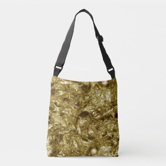 PURE GOLD moonscape Pattern + your text / photo Tote Bag