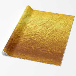 PURE GOLD PAPER Pattern + your text / photo